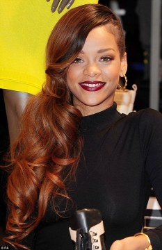 berry lips rihanna
