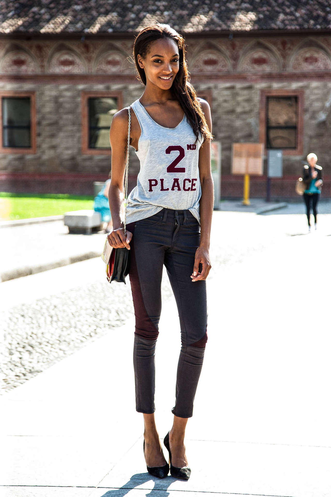 Dear Beautiful Love Her Style The Simplicity Of Jourdan Dunn