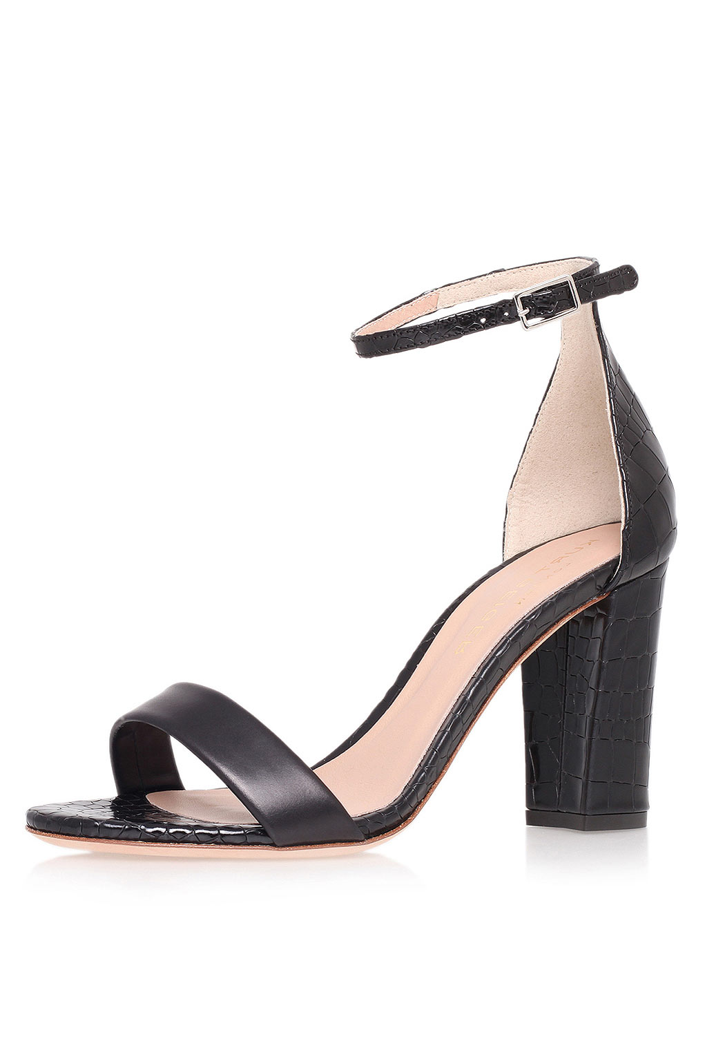 Block Ankle Strap Sandals | What Trends Are For